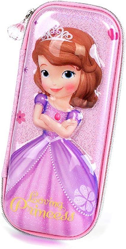 Estuche para lápices de princesas Disney de alta capacidad, estuche organizador de papelería, bolsa para lápices para niñas: Amazon.es: Oficina y papelería