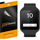 [6-Pack] Supershieldz- Anti-Bubble High Definition Screen Protector For Sony Smartwatch 3 + Lifetime Replacements Warranty- Retail Packaging
