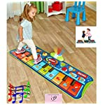 Step-to-Play Junior Piano Mat Teach Your Children to Dance sing and Have Rhythm Just Like The Stars 6 built in songs.