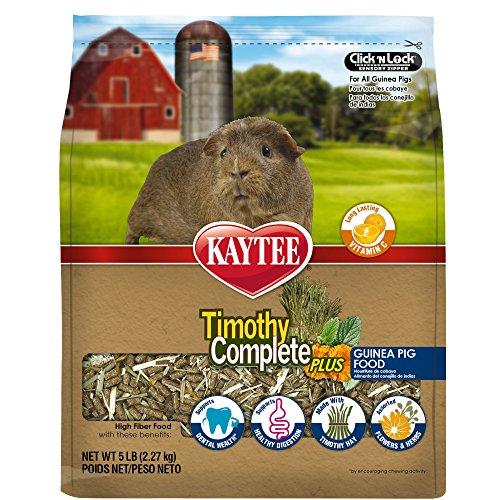 61efqMUVcRL - Kaytee Timothy Complete Plus Flowers & Herbs Guinea Pig Food