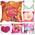 Throw Pillow Cover, DaySeventh Valentine's Day Print Pillow Cases Polyester Sofa Car Cushion Cover Home Decor 18x18 Inch 45x45 cm