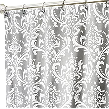 Amazoncom Extra Long Shower Curtain Fabric Shower Curtains