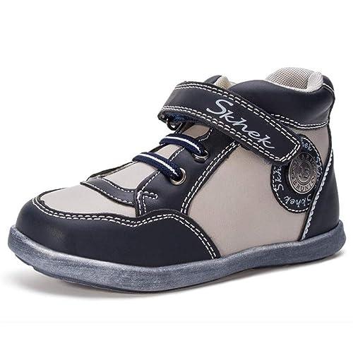 Zapatillas Deportivas para niños Boy High Top Antideslizante Baloncesto Zapatilla de Deporte Chica Rosa Zapatos Casuales Zapatillas de Deporte de Moda: ...