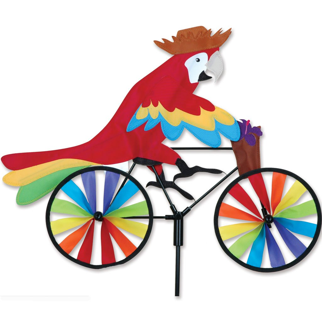 Premier Kites 20 in. Bike Spinner - Parrot by Premier Kites
