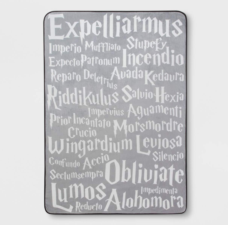 Jay Franco Harry Potter Plush Blanket 62 x 90 Super Soft - 100% Polyester by Jay Franco