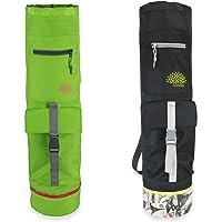 Sosila Yogatasche für Yogamatten, Gymnastikmatten und Fitnessmatten, mit Einem Verstellbaren Tragegurt und zusätzlichen Staufächern