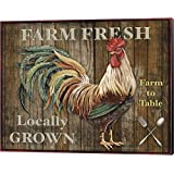 Farm Fresh I by Jean Plout Canvas Art Wall Picture, Museum Wrapped with Black Sides, 20 x 16 inches