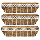 Better Homes and Gardens Patio Lattice Coco Window Box Planter (3)