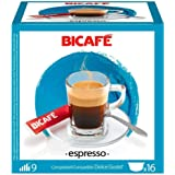BICAFE Espresso Capsules Compatible with Dolce Gusto Machhines - 16 Capsules - cup
