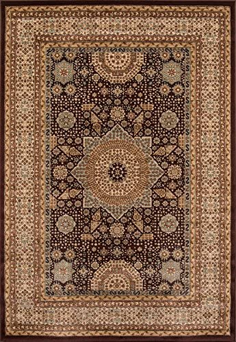 Momeni Rugs Belmont Collection Area Rug, 2 x 3 , Brown