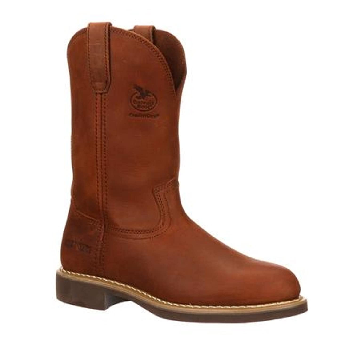 "11"" Men's Georgia Wellington Prairie Chestnuet Heritage, CHESTNUT, 9"