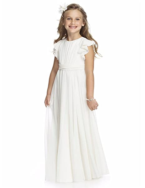 VIPbridal Vestidos de niñas de flores de encaje vestido de la primera comunión de las niñas
