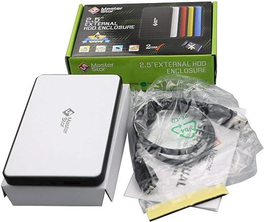 MasterStor Ultra Slim - Caja de Almacenamiento portátil USB 3.0 ...