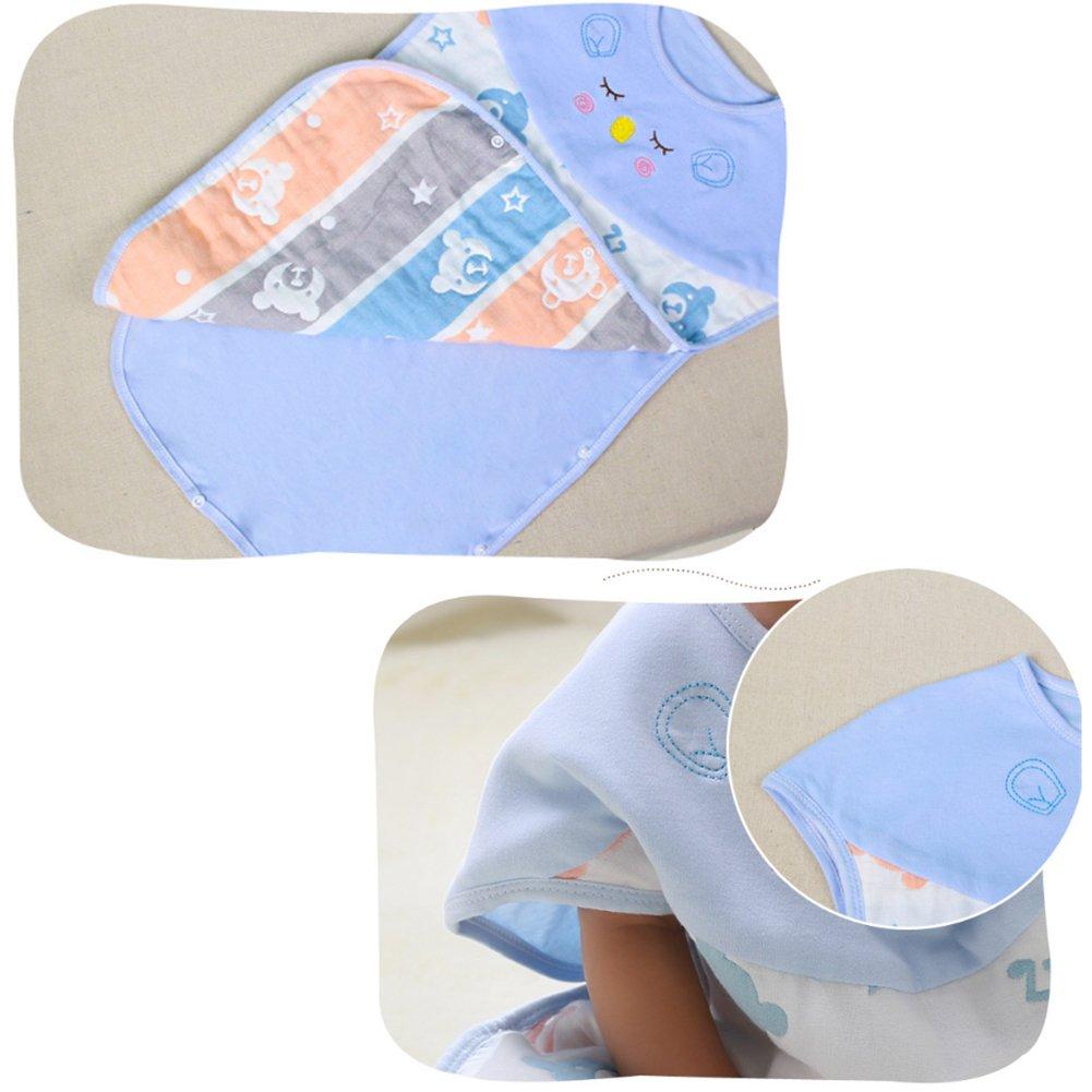 Isuper Saco de dormir de bebé,Manta de algodón ajustable,Mantas de bebé Pañales Ropa de cama de bebé Patrón de oso rosa: Amazon.es: Bebé