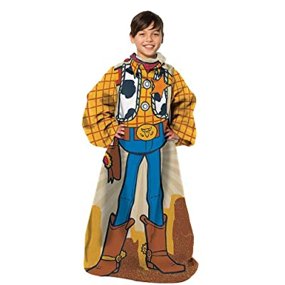 """Toy Story Being Woody Youth Soft Throw Blanket with Sleeves, 48\"""" x 48\"""": Garden & Outdoor [5Bkhe0204347]"""