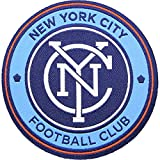 New York City FC Soccer Team Crest Pro-Weave Jersey MLS Futbol Patch