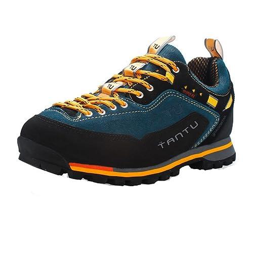 Showlovein - Zapatillas de Pesca de Material Sintético para Hombre, Color, Talla 43