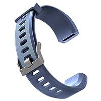 Cinturino per Orologi, Aokey Braccialetti Intelligenti per Bracciale Regolabile Tracker Fitness 115Plus HR come Ricambio con 5 Colori