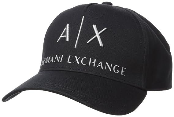 pick up the sale of shoes wholesale dealer Armani Exchange Herren Corp Logo Baseball Cap