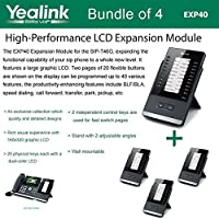 Yealink EXP40 LCD Expansion Module for SIP-T46G and SIP-T48G, Bundle os 4