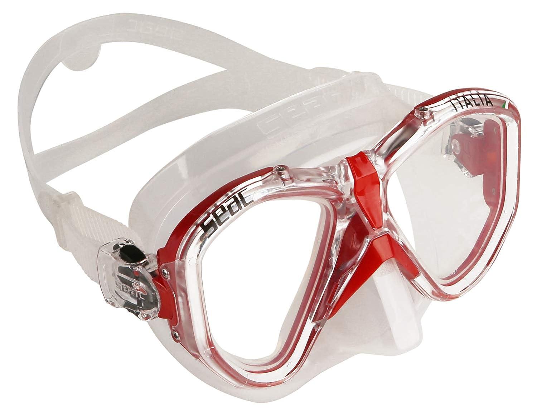 Seac Tauchmaske Italia, zum Tauchen, Schnorcheln, Schwimmen Unisex B01NCUC0GI Tauchmasken Super Handwerkskunst