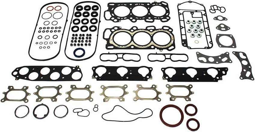 DNJ FGS3018 Full Gasket Sealing Set For 2004-2007 Saturn Vue 3.5L SOHC V6 24V 3471cc 3475cc 3474cc