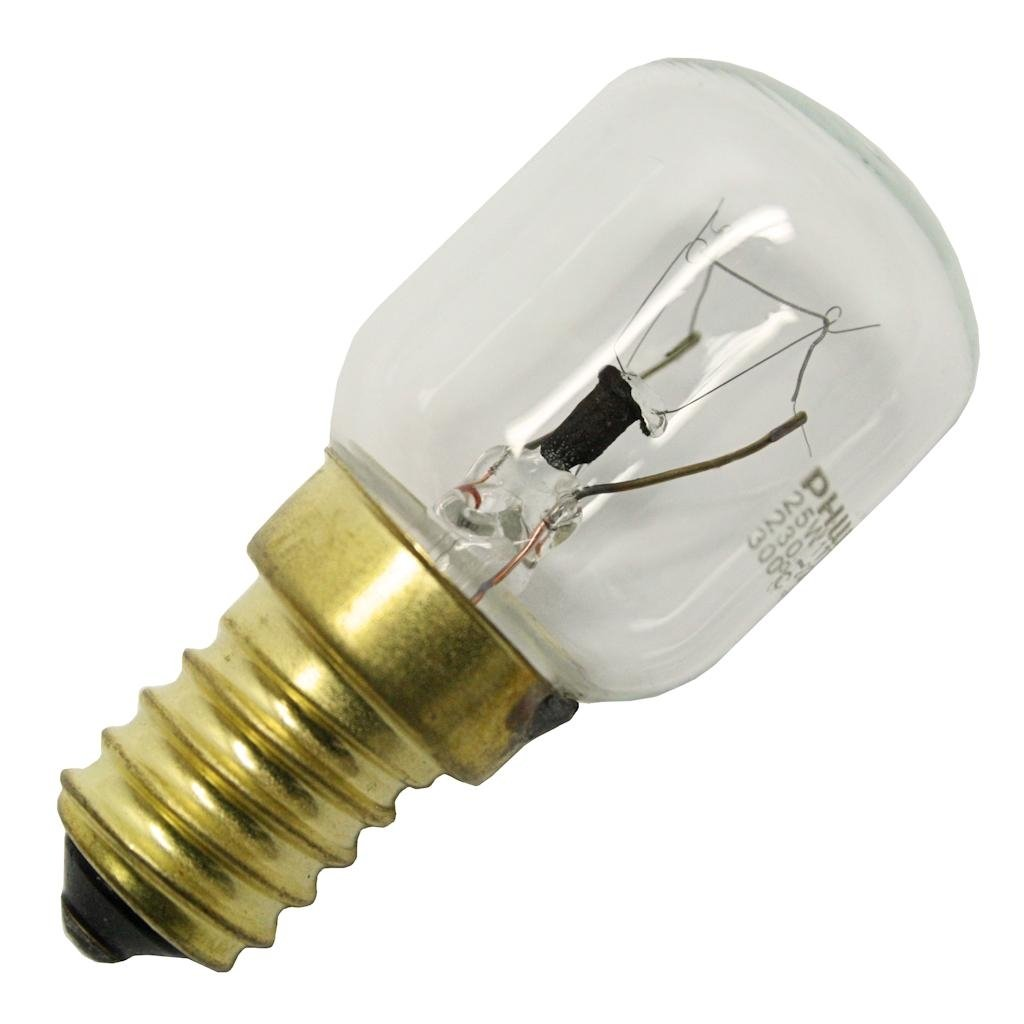 General 25241-25T25MM/CL/E14 230-240V OVEN 300 DEGREE Indicator Light Bulb