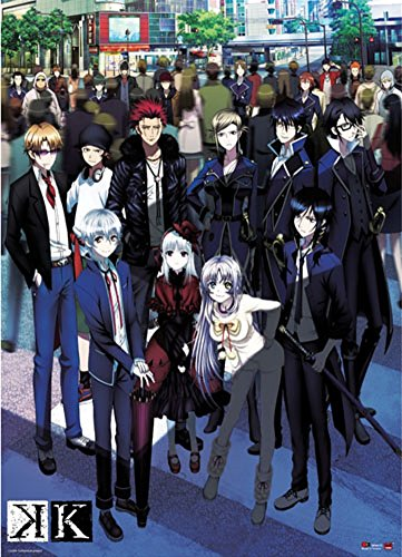 Official Licensed K Project: Group Key Art Wall Scroll, 33 x