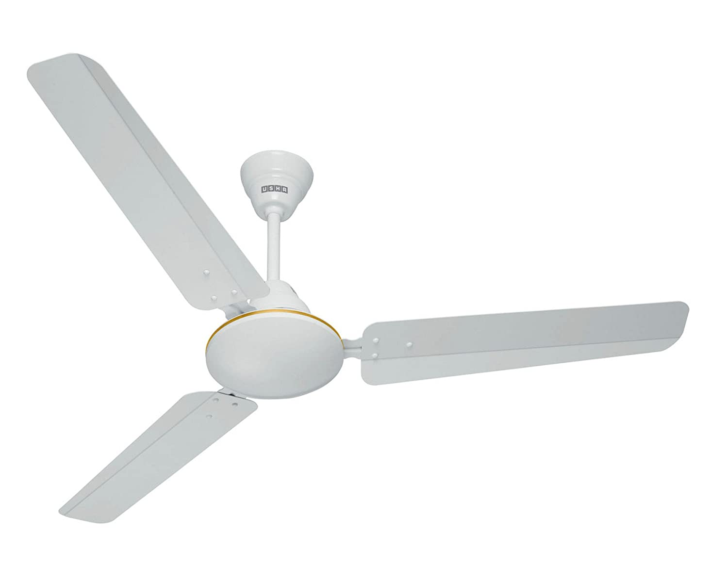 56f0996bf98 Buy Usha Technix 1200mm 43-Watt 5 Star Energy Saving Ceiling Fan (New  White) Online at Low Prices in India - Amazon.in