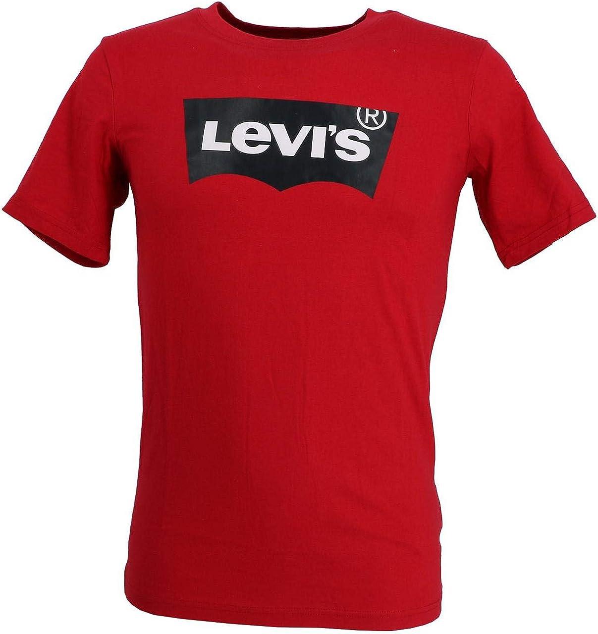 Camiseta Levis Batwing Roja Niña y Niño: Amazon.es: Ropa y accesorios