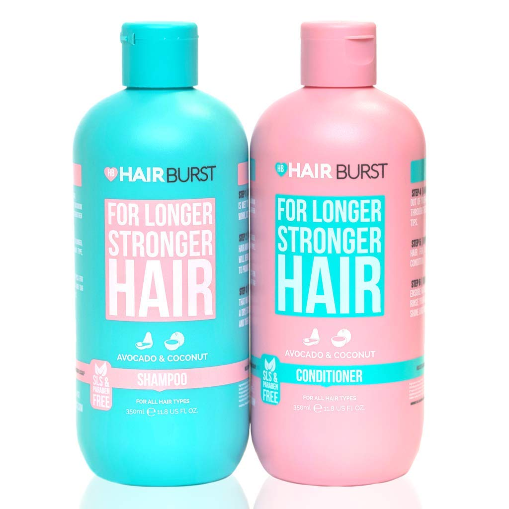 HAIRBUST Hair Growth Shampoo and Conditioner For Woman - Prevents Hair Loss - Contains No SLS and Paraben - Leaves Hair Feeling Thicker, Softer and More Luxurious - New Bigger 350 millilitre Bottles by Hairburst