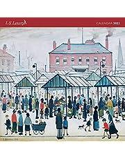 L.S. Lowry Wall Calendar 2022 (Art Calendar)
