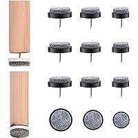 Mlysnd Meubelstootkussen Nagels, 72 Stuks Stoelviltjes Vochtbestendige Meubelviltjes Voor Houten Meubelen Stoel, Krukken…