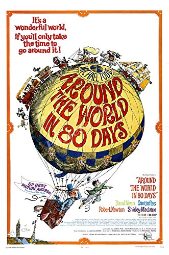 Posters USA - Around the World in 80 Days Movie Poster GLOSSY FINISH) - MOV231 (24