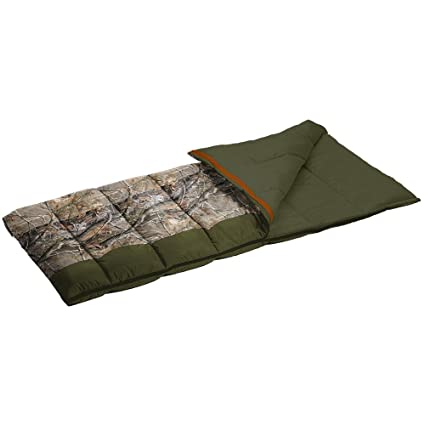 Master Sportsman Pathfinder 35 Degree Sleeping Bag, Realtree Camo