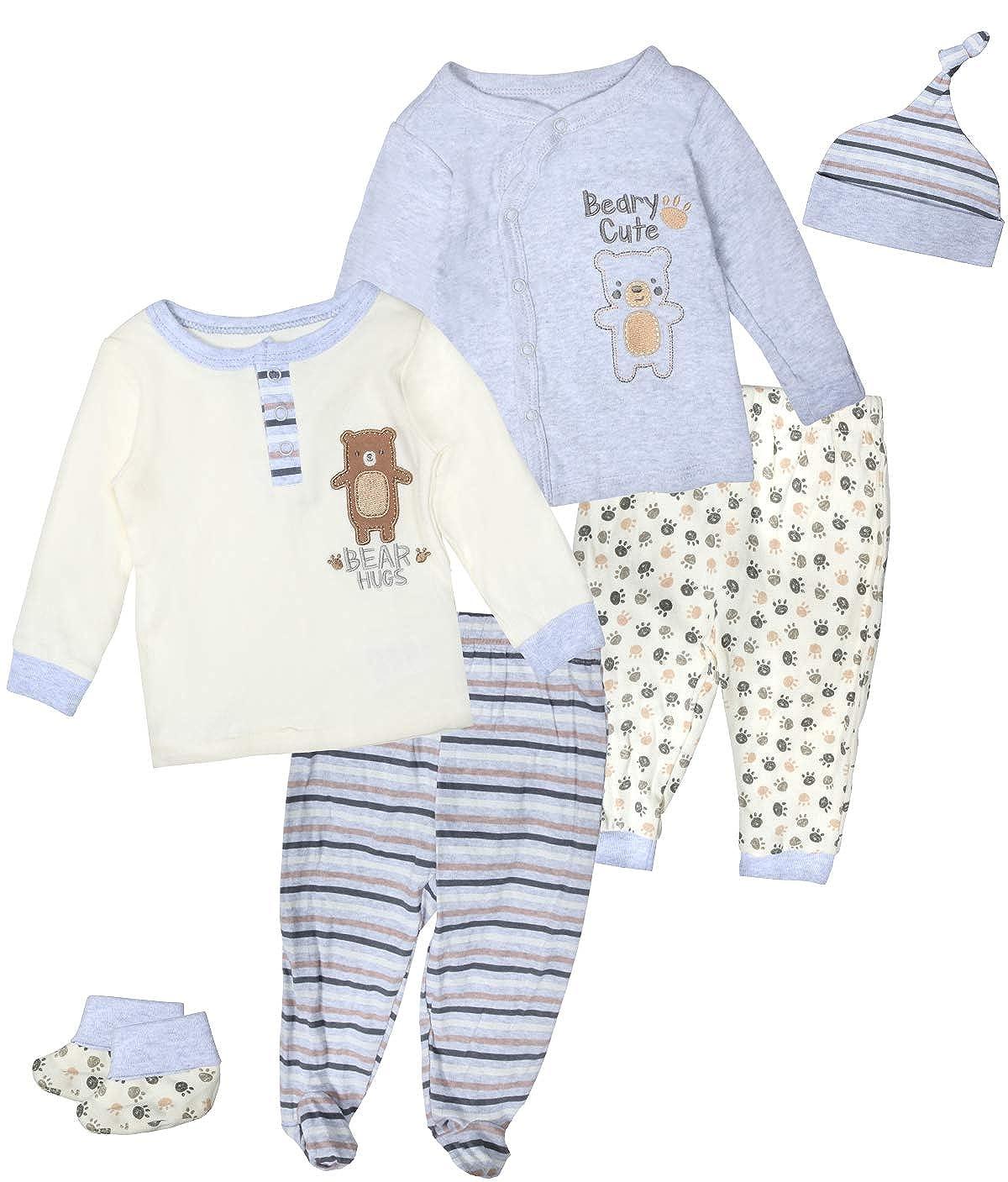 2pcs Kids Baby Boys Bear ducks T Shirt Top+Pants Toddler Infant Clothes Sets