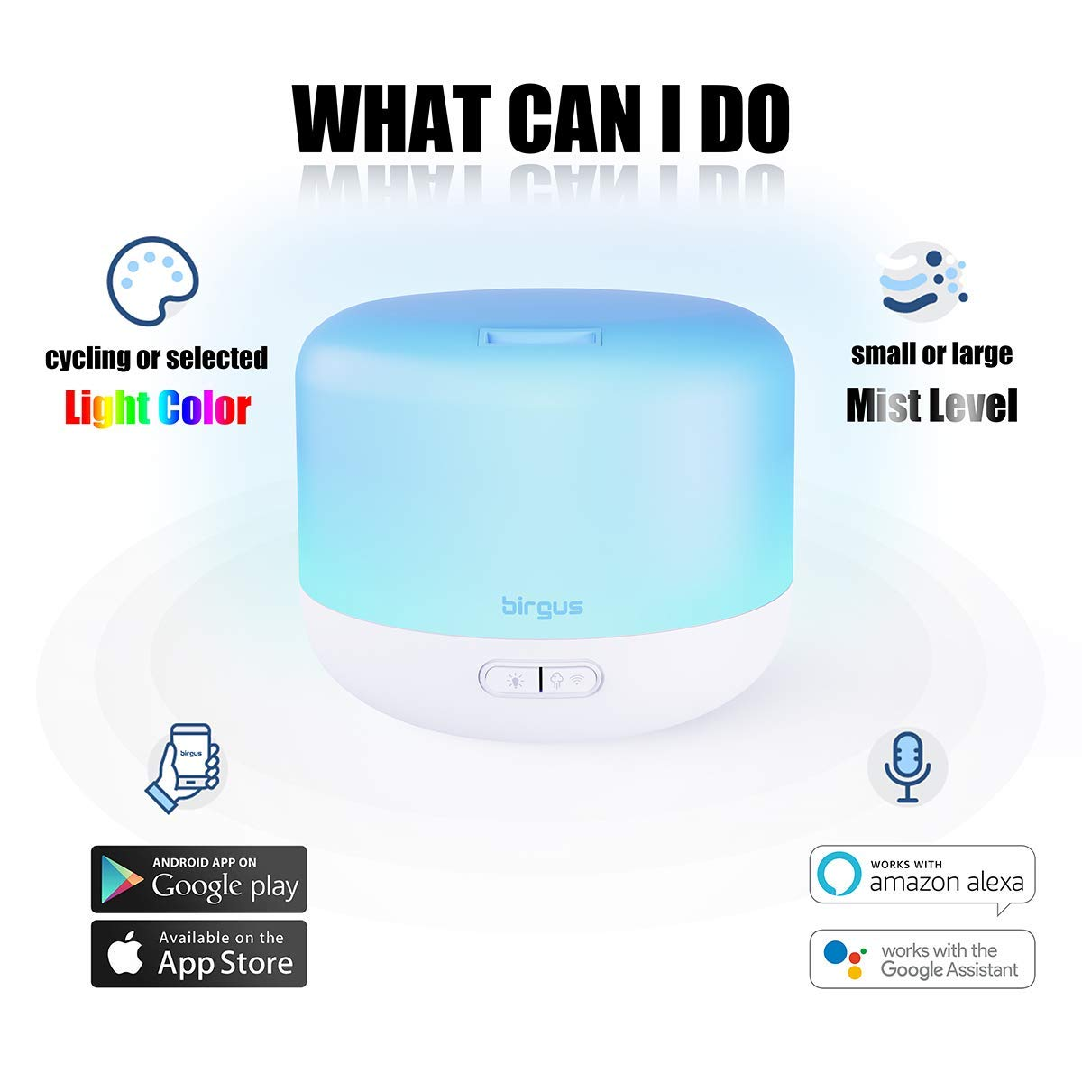 Amazon coupon code for Smart Wifi Enable Essential Oil Aromatherapy Diffuser