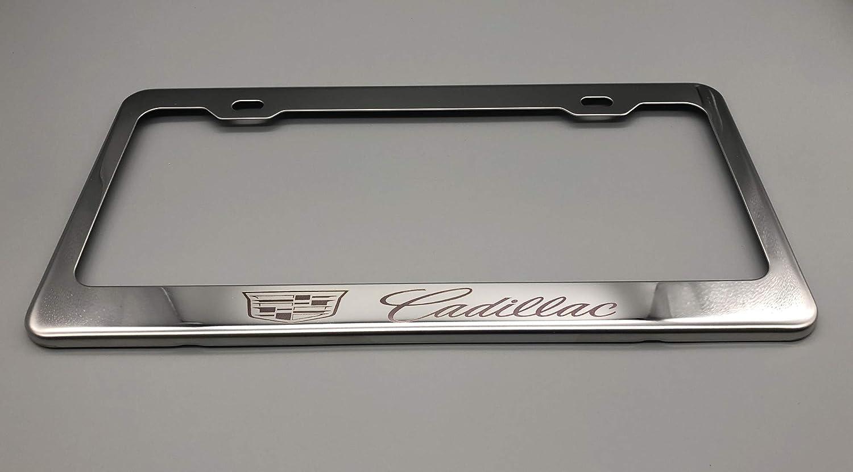 Cadillac Chrome License Plate Frame