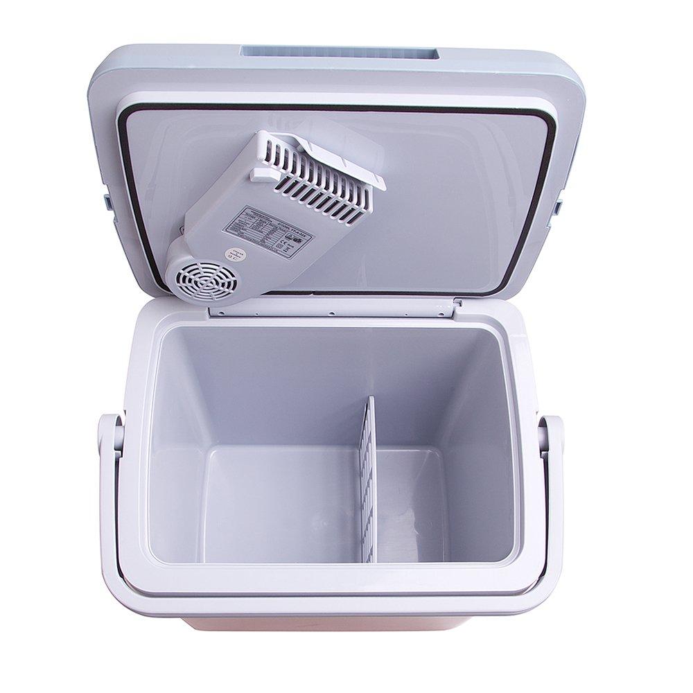 per tenere le pietanze calde o fredde Frigo elettrico portatile alimentazione a 240 V CA o 12 V capacit/à: 32 L Auto Companion
