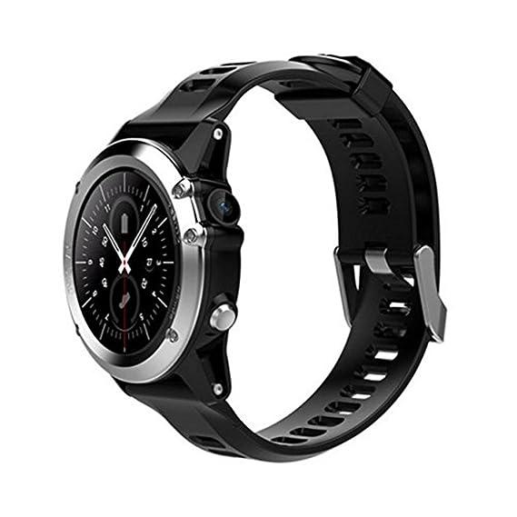 H1 Smart Watch MTK6572 IP68 Waterproof 1.39inch 400400 GPS Wifi 3G Heart Rate Monitor 4GB