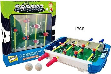 FHJZXDGHNXFGH Mini Table Football Game Set Mini Desktop Football Toy Juego de Mesa de fútbol Interactivo para Padres e Hijos Juguete de Mesa de fútbol: Amazon.es: Hogar