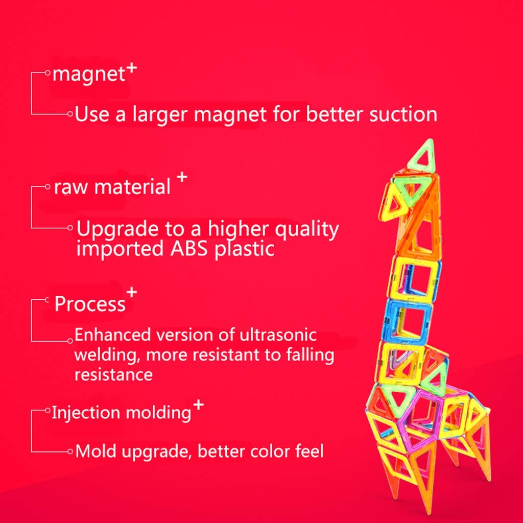 LIUFS-TOY Magnetic Piece Building Blocks Children's Toys Assembling Patch Puzzle Diamond 3-10 Years Old Boy Girl (Size : 331 Pieces) by LIUFS-TOY (Image #4)