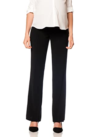 authentic quality wide varieties modern style Motherhood Petite Secret Fit Belly Bi-Stretch Suiting Flare Leg Maternity  Pants
