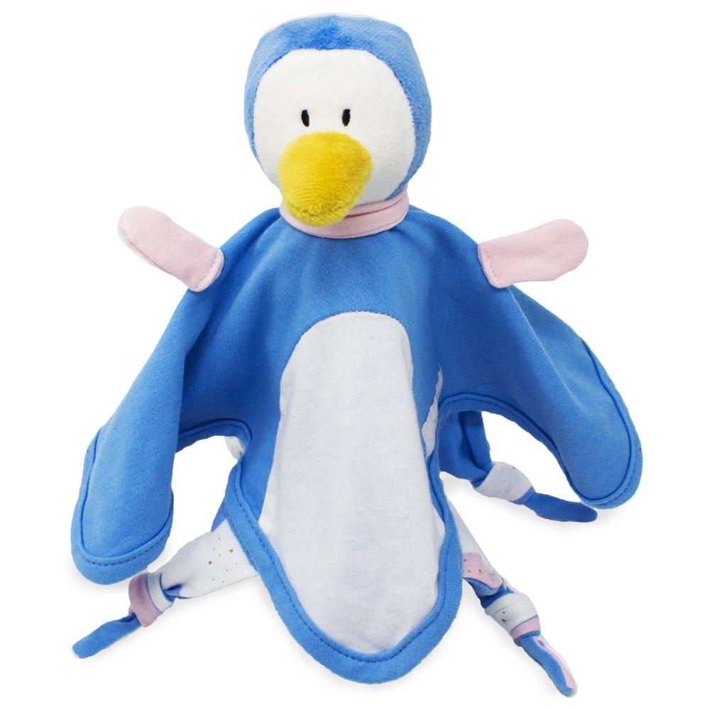 Emma & Noah doudou para bebé pingüino, para niñas y niños, extra suave, ideal como peluche para bebé, dou dou, peluche pequeño, dudu, manta de peluche ...