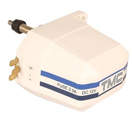 De plástico de color blanco marino barco para parabrisas resistente al agua 12 V Motor para