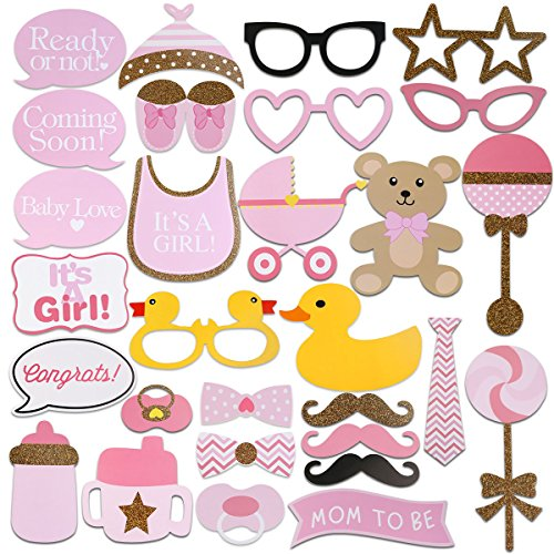 Tinksky Shower Photobooth Newborn Decorations
