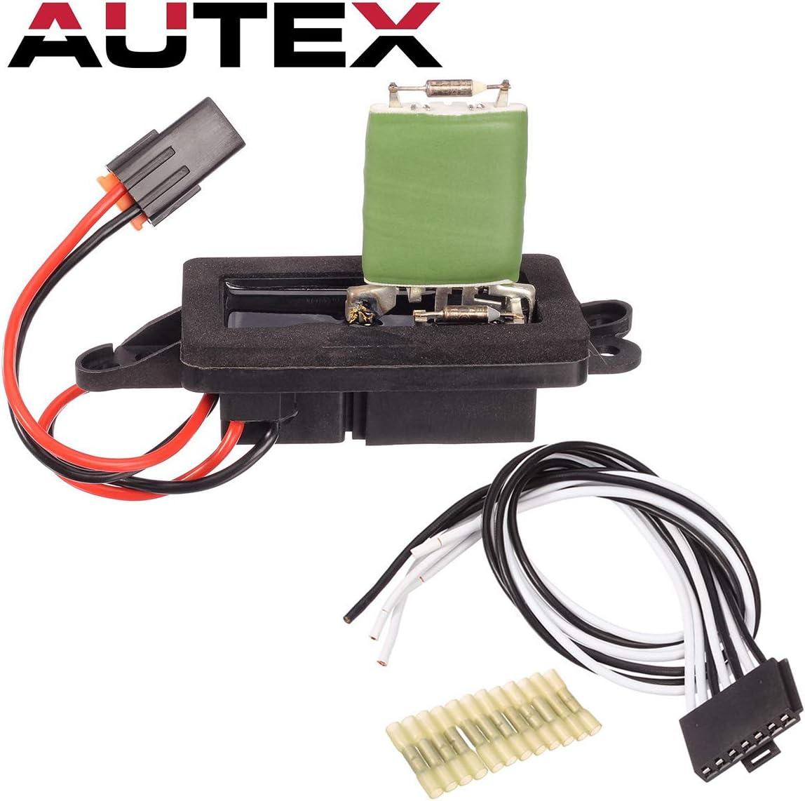 PartsSquare 89019088 Manual Blower Motor Resistor RU571