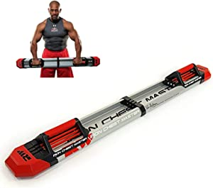 Iron Chest Master Extreme Push Up Machine - The Perfect Chest Workout Equipment for Home Workouts - Exercise Equipment Includes Resistance Bands and Unique Fitness Program for Men and Women