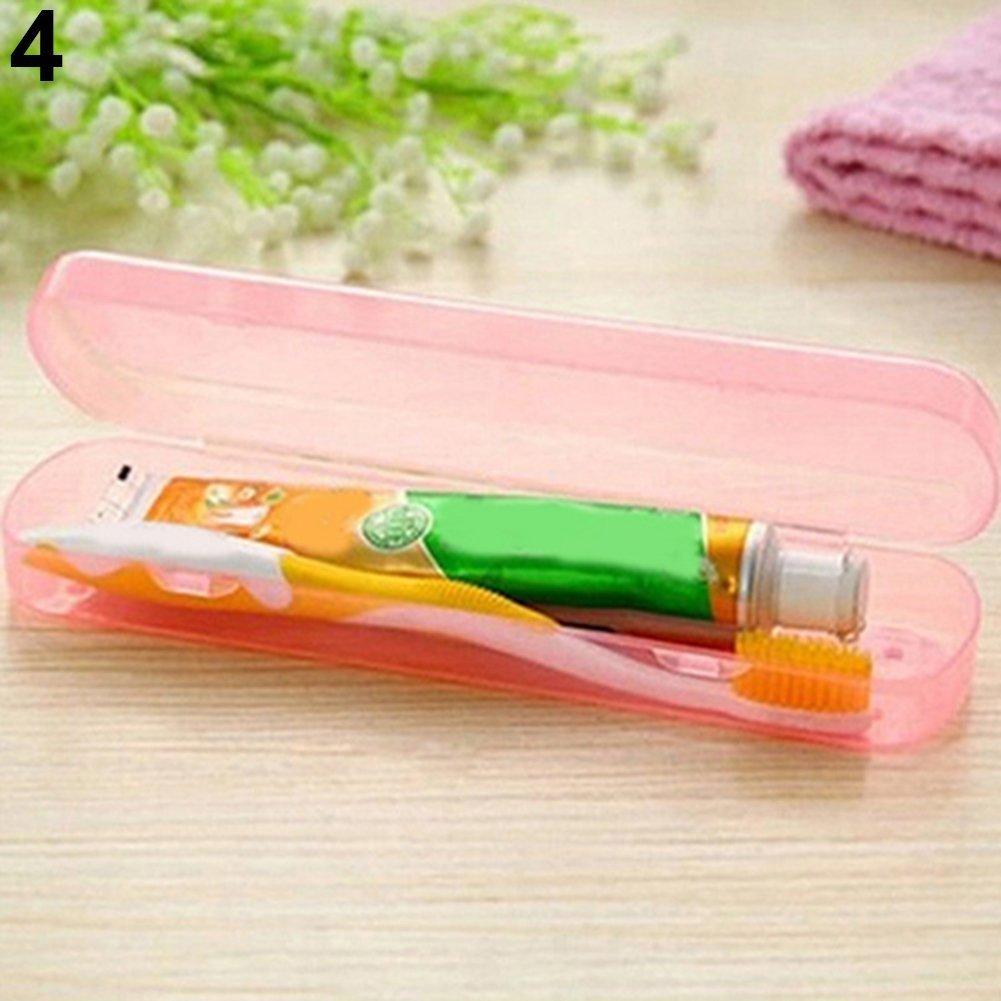 Dragonaur viaggio campeggio portatile spazzolino dentifricio di storage box, plastica, Blue, medium MBSOCT22A252