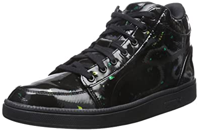 PUMA Mens Mcq Serve Mid Sneaker Black